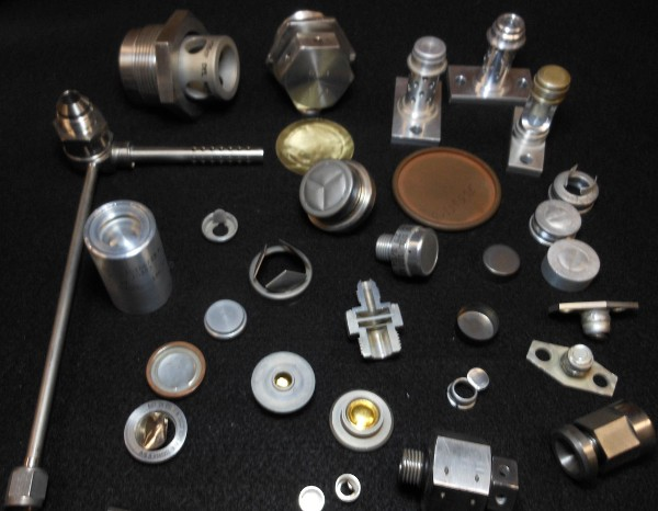 Various Pressure Relief Burst Diaphragm Assemblies