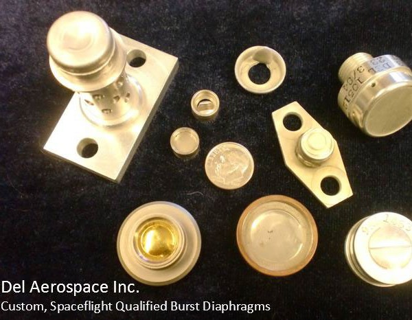 Spaceflight Qualified Burst Diaphragms