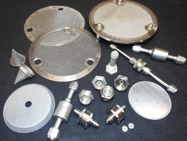 Custom Gas and Liquid Filter Assemblies (He, RP1 etc.)